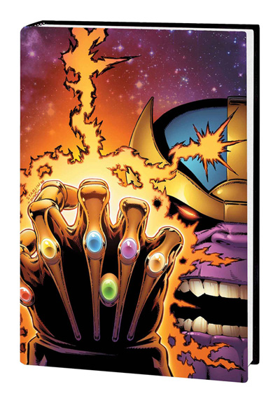 Infinity Gauntlet Omnibus Starlin Cover