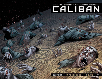Caliban #1 Wraparound cover