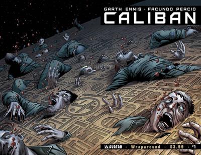 Caliban #1 Wraparound cover