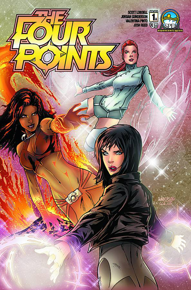 The Four Points #1 Cover A by Jordan Gunderson