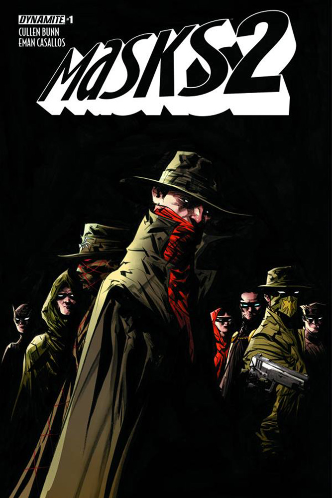 Masks 2 #1 Jae Lee cover