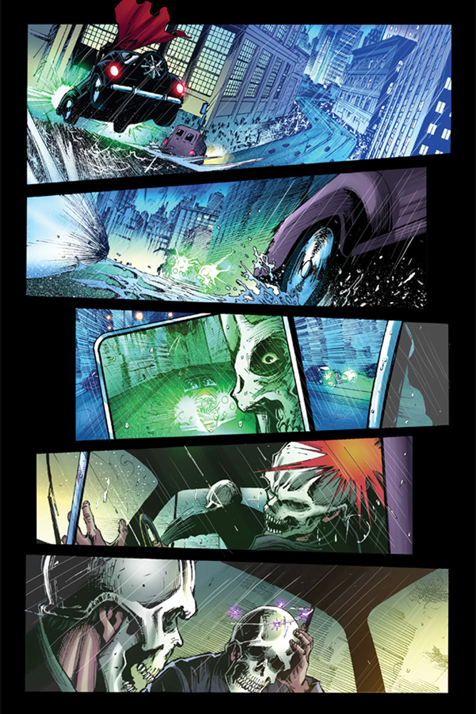 Masks 2 #1 preview page 4. Art by Eman Cassalos.