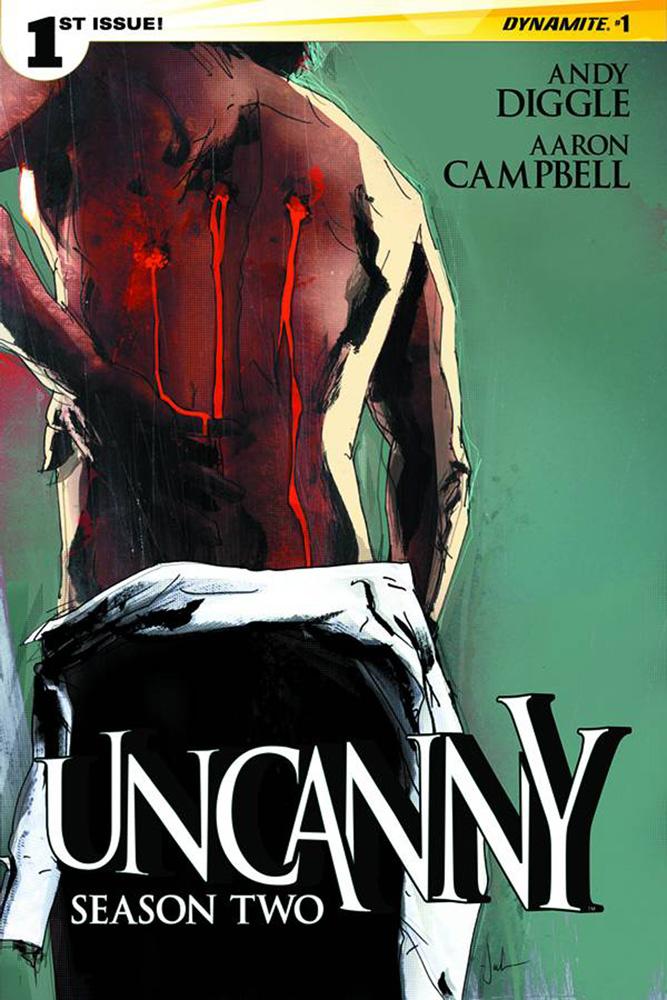 Uncanny Season 2 #1 Cover by Jock