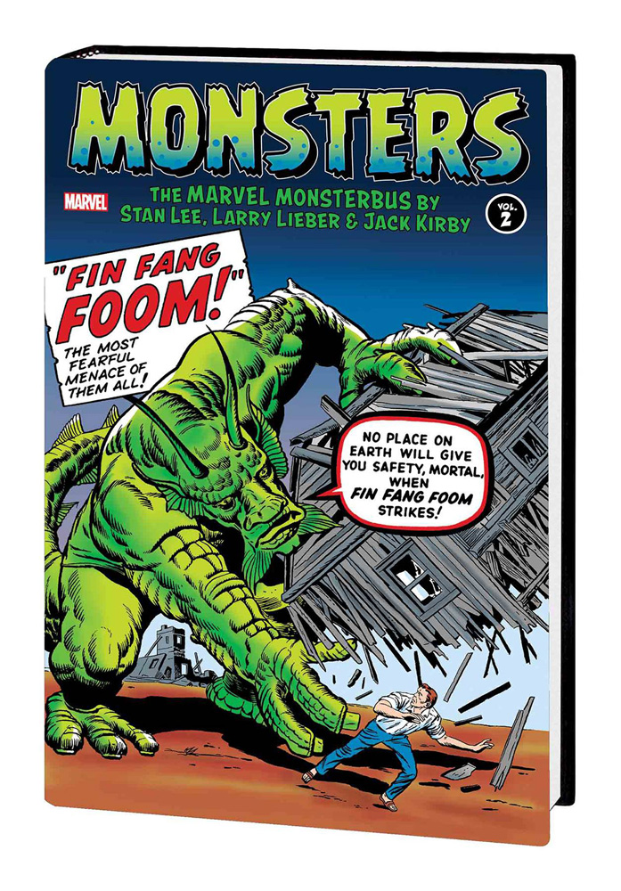 Image: Monsters Vol. 02: The Marvel Monsterbus by Stan Lee, Larry Lieber & Jack Kirby HC  - Marvel Comics