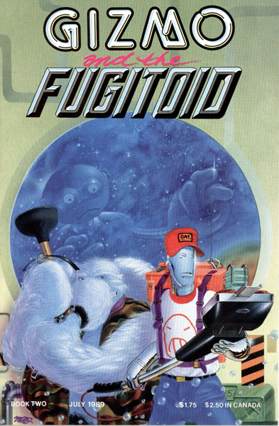 Image: Gizmo and the Fugitoid #2 - Mirage Studios
