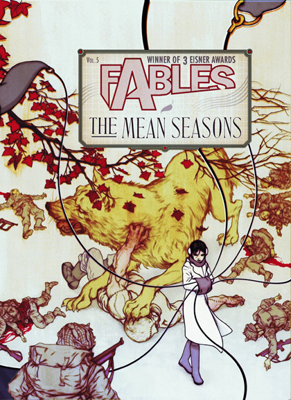 Image: Fables Vol. 05: The Mean Seasons SC  - DC Comics