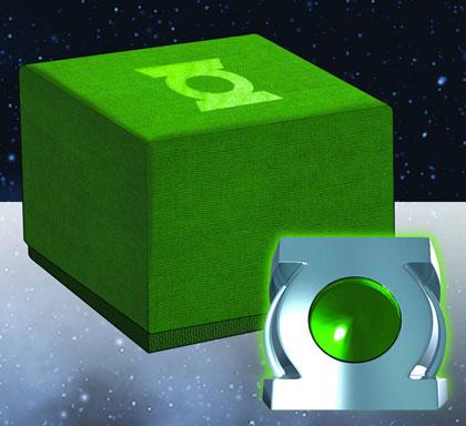 green lantern ring prop. Image: Green Lantern Prop Replica: Honor Guard Ring