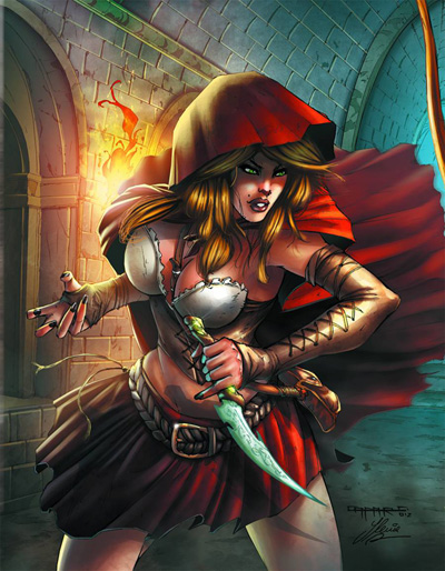 Grimm Fairy Tales Little Red Riding Hood Grimm Fairy Tales Presents