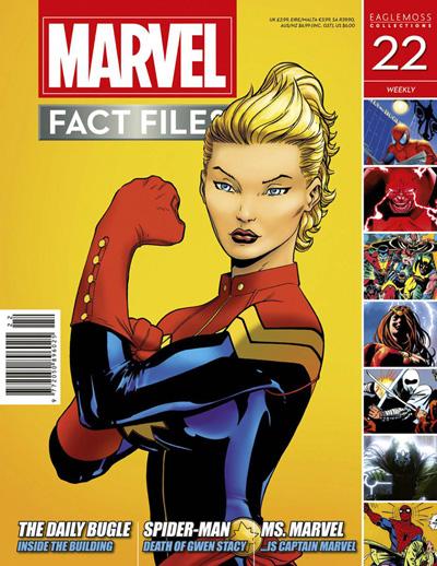 Marvel Fact Files #22