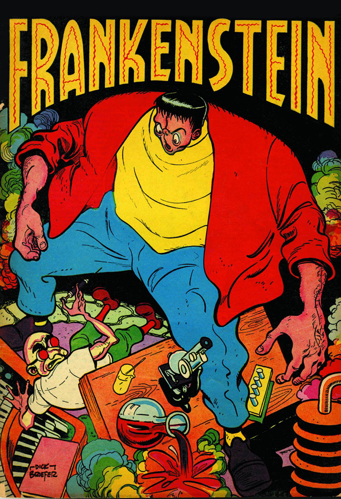 Frankenstein: The Mad Science of Dick Briefer