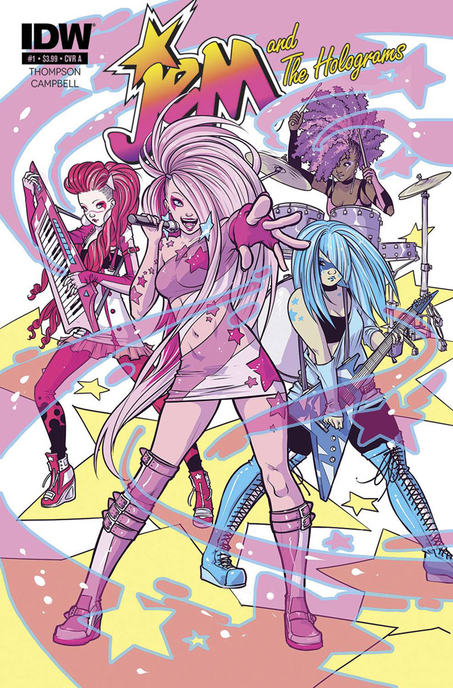 Jem and The Holograms #1 Cover A by Ross Campbell
