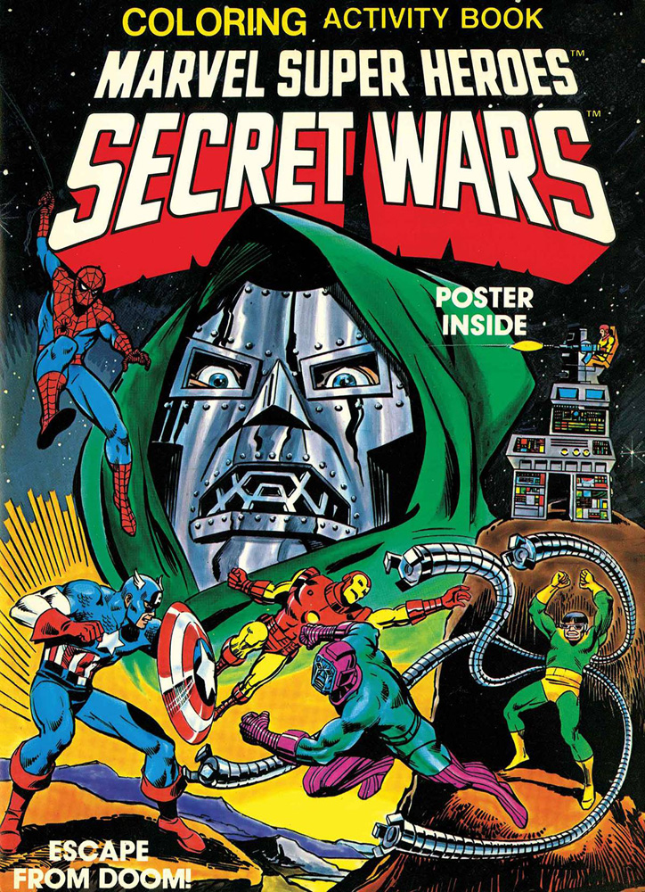 Marvel Super Heroes Secret Wars Activity Book Facsimile Collection