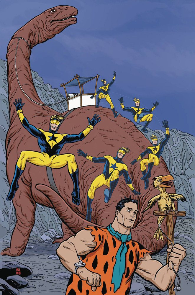 Booster Gold/The Flintstones