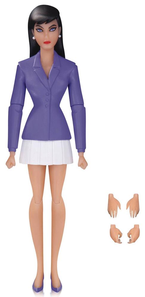 Lois Lane Action Figure: Superman Animated Series Action Figure 01: Superman And