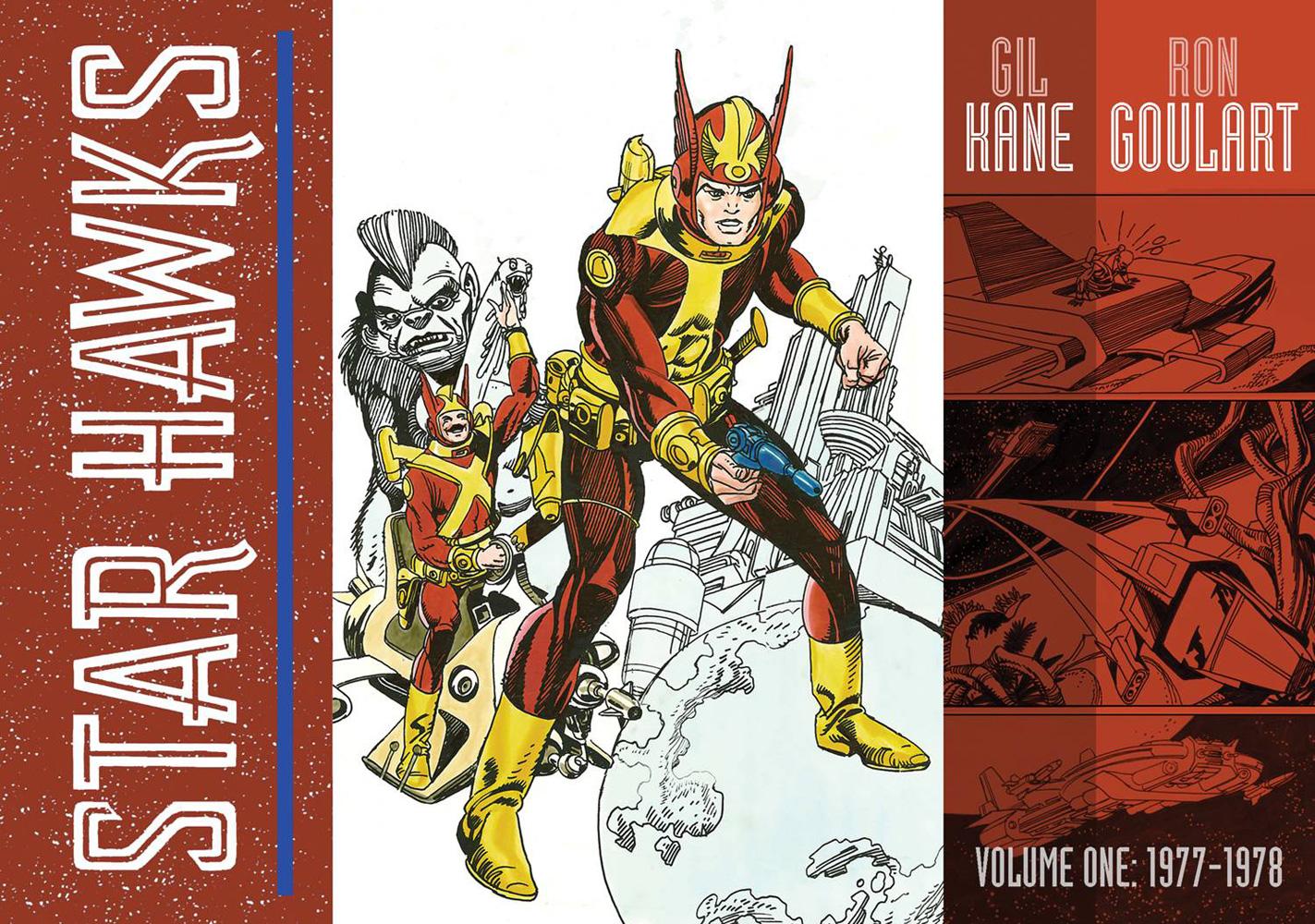 westfield comics blog interview ron goulart on idw s star hawks star hawks vol 1 hc