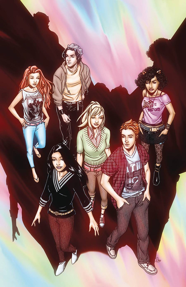 The comics version of Riverdale. Cover by Alitha Martinez.