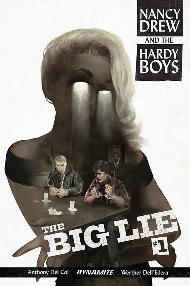 Nancy Drew & The Hardy Boys: The Big Lie #1 Fay Dalton cover