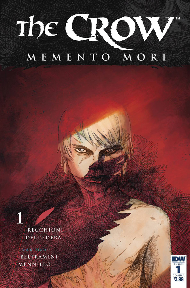 Image: Crow: Memento Mori #1 (cover A - Dell'Edera)  [2018] - IDW Publishing