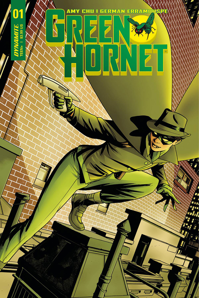 Green Hornet #1 Mike McKone cover