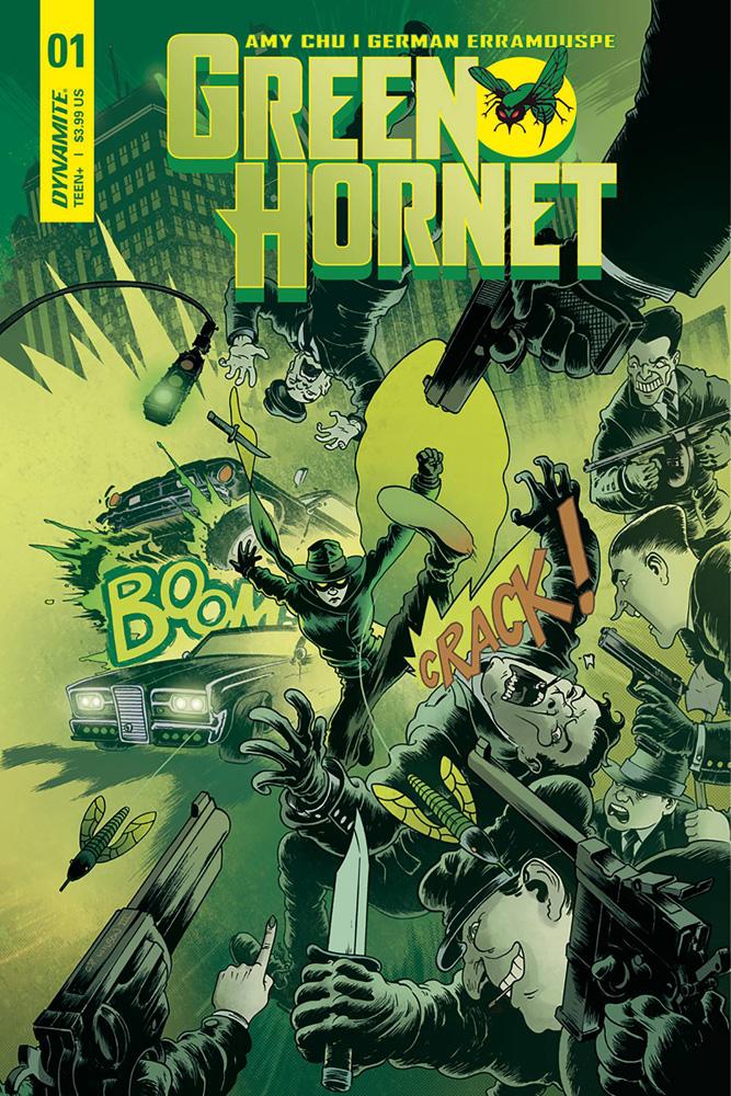 Green Hornet #1 CP Wilson III cover