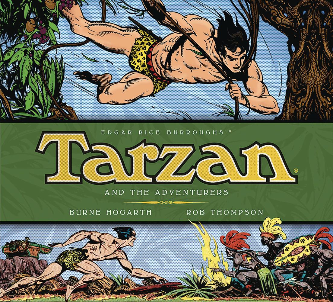 Burne Hogarth's Tarzan Vol. 05: Tarzan and the Adventurers HC