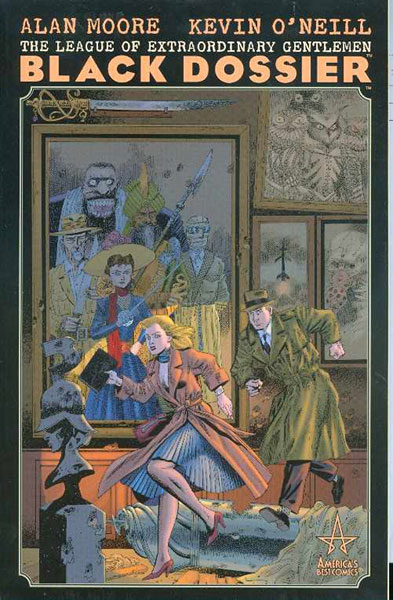 Image: League of Extraordinary Gentlemen: Black Dossier SC  - DC Comics
