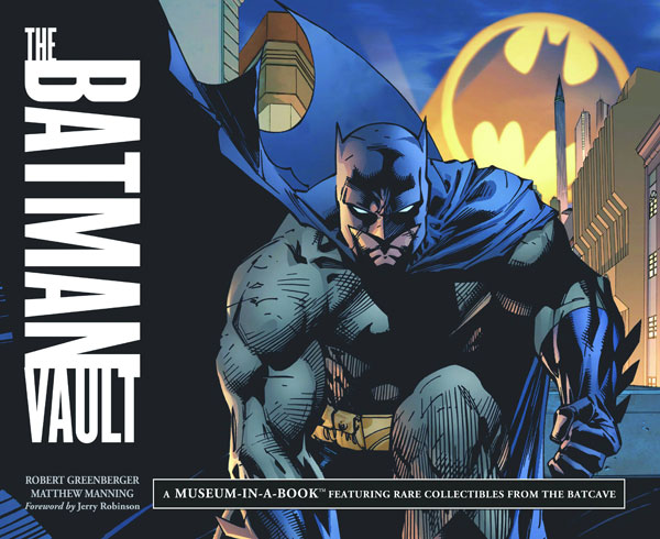 Image: Batman Vault: Museum in a Book Spiral HC  -