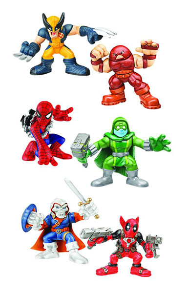 Image: Marvel Super Hero Squad 2-Pack Action Figure Assortment 201004
