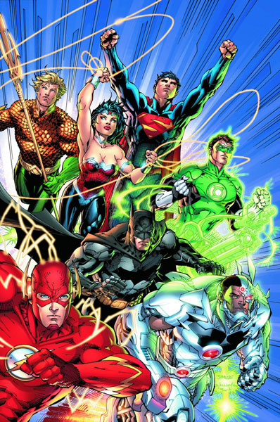 Justice League #1 by Geoff Johns, Jim Lee & Scott Williams