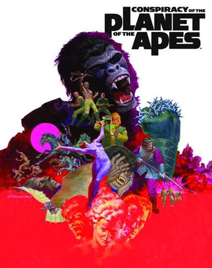 Image: Conspiracy of the Planet of the Apes HC  - Archaia Entertainment LLC