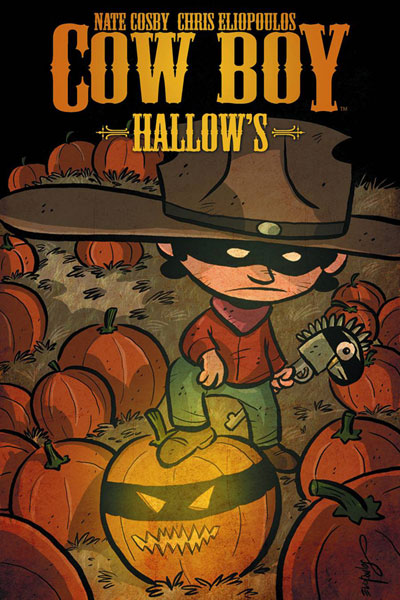 Image: Cow Boy Hallow's Halloween Comic Fest Bundle 2012  - Halloween Mini-Comics 2011