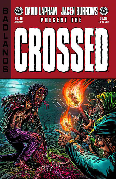 Image: Crossed: Badlands #10 (auxiliary cover)