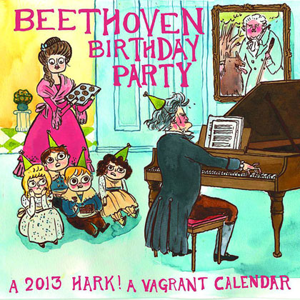 Image: Beethoven Birthday Party: Hark a Vagrant 2013 Calendar