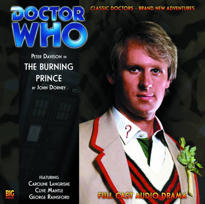 Image: Doctor Who Audio CD: The Burning Prince