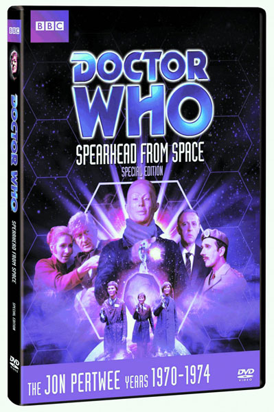 Image: Doctor Who: Spearhead From Space DVD