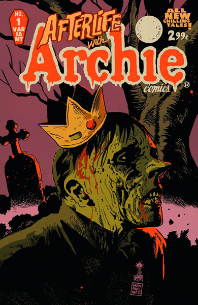 Afterlife With Archie #1 Variant Cover