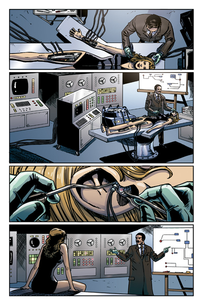 The Bionic Woman Season Four #1 preview page 3.