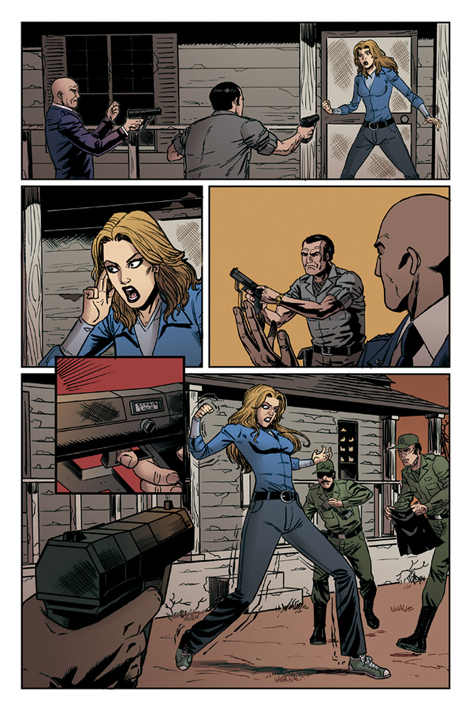 The Bionic Woman Season Four #1 preview page 4.