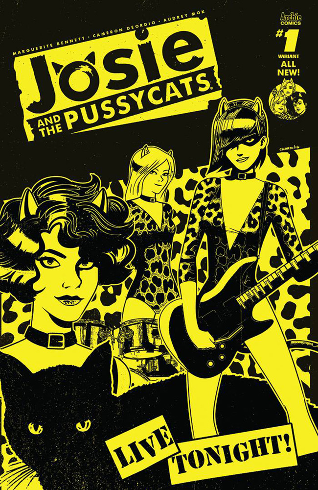 Josie and the Pussycats #1 Derek Charm cover