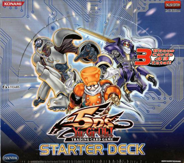 Image: Yu-Gi-Oh! TCG 5Ds Starter Deck Display  - Upper Deck Company