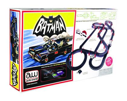 Auto World Slot Car Track Set: Batman