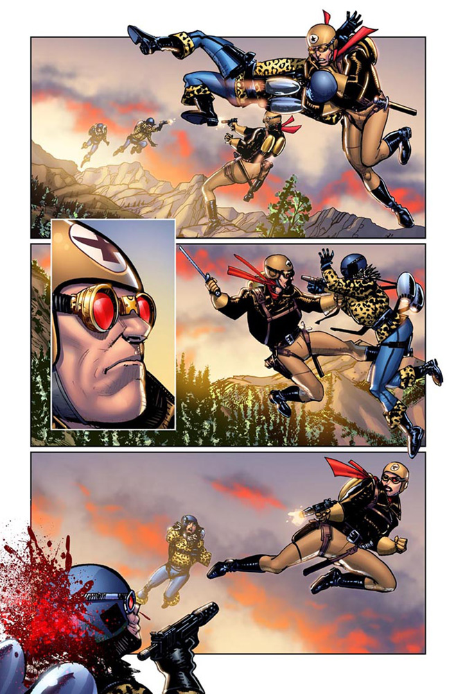 Buck Rogers in the 25th Century #1 preview page 3.