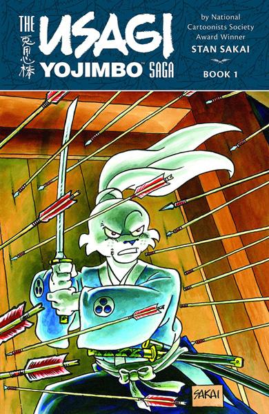 The Usagi Yojimbo Saga Volume 1