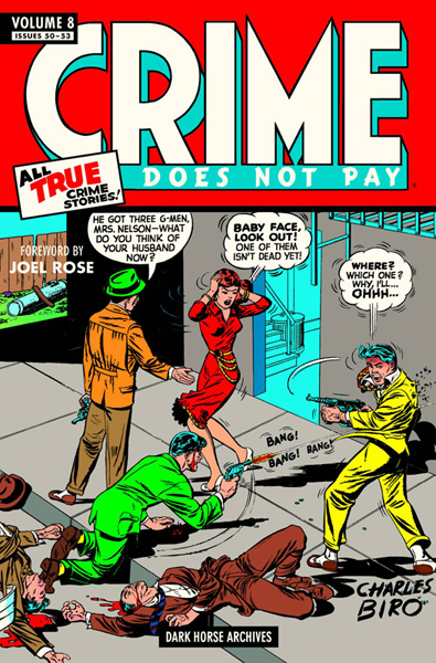 Crime Does Not Pay Archives Volume 8