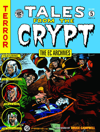 EC Archives Tales From The Crypt Volume 5