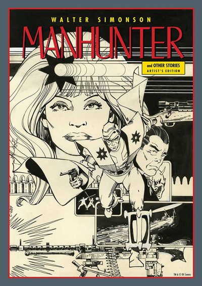 Walter Simonson Manhunter & Other Stories: Artist's Edition