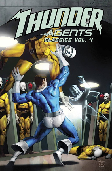 THUNDER Agents Classics Volume 4
