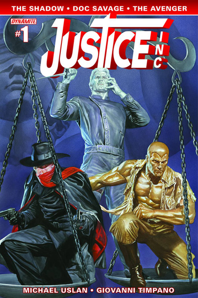 Image: Justice, Inc. #1 (Ross cover) - Dynamite
