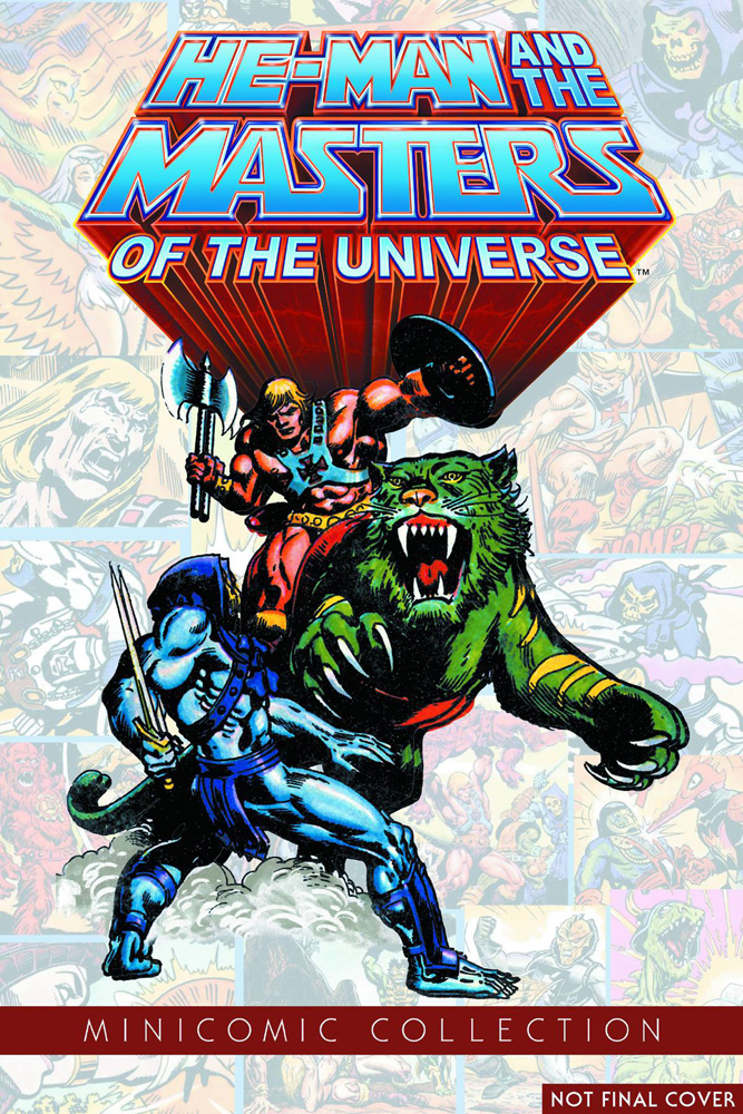 He-Man and the Masters of the Universe Mini-Comic Collection