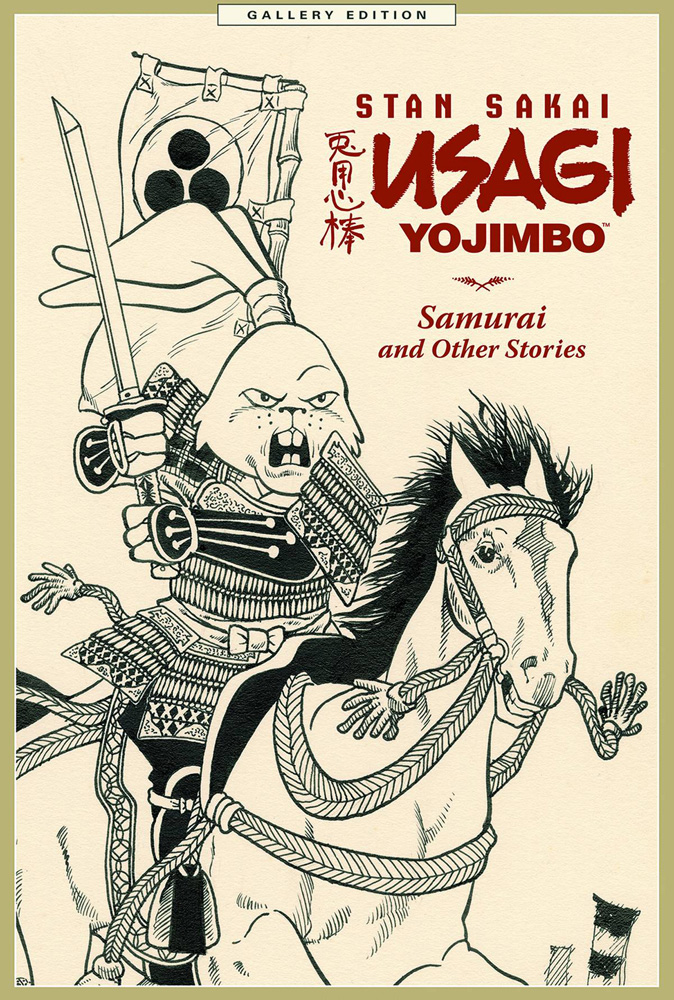 Usagi Yojimbo Gallery Edition Volume 1: Samurai and Other Stories